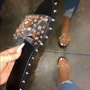 Spiked Sandals